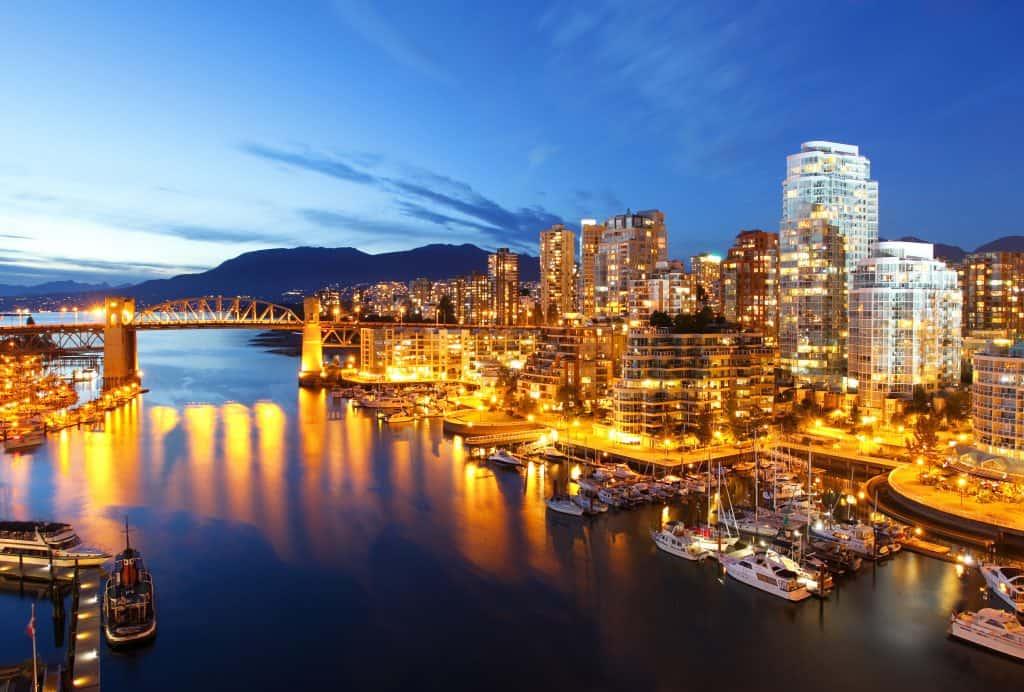 La ciudad de Vancouver