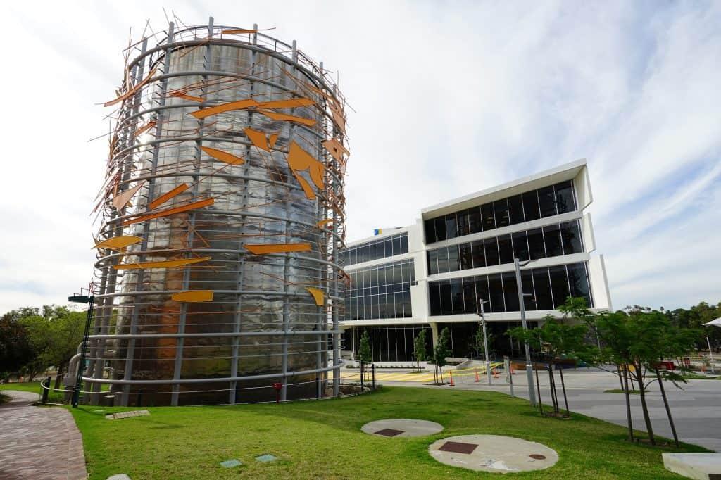 Curtin University en Perth