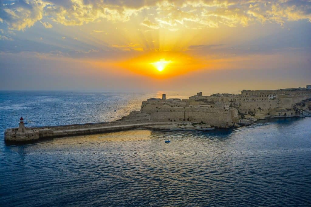 El clima mediterráneo de Malta