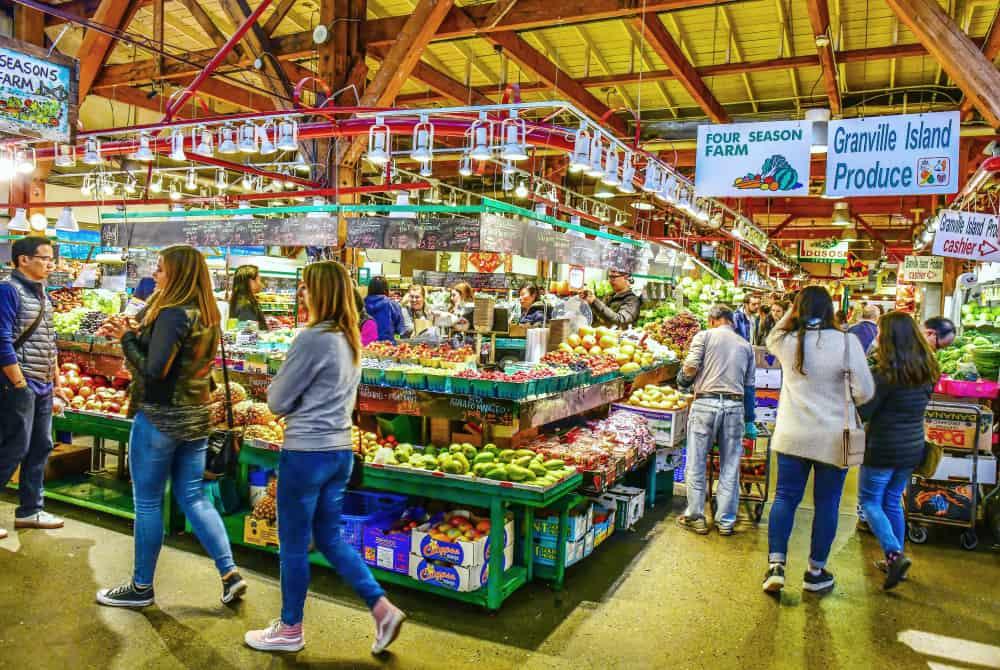 El mercado público de Granville