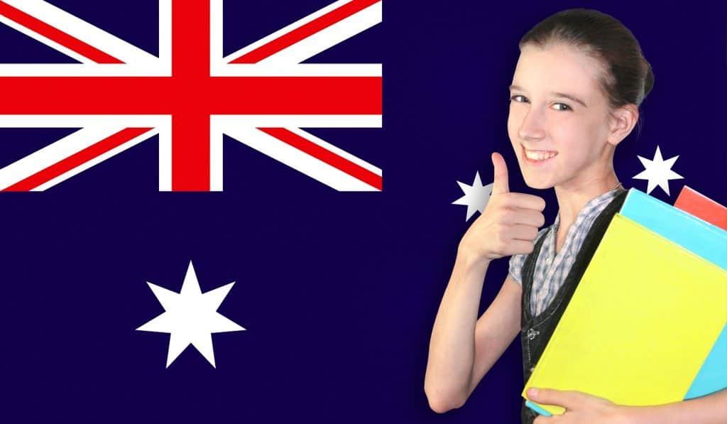 Estudiante menor de edad en Australia