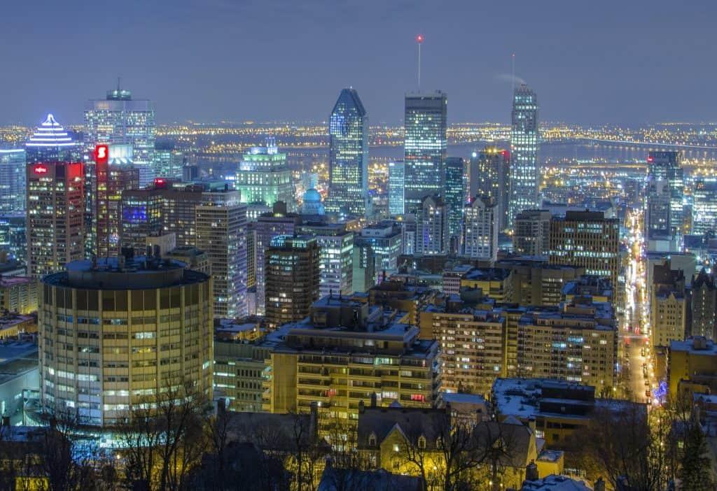 Monte Royal vista Montreal