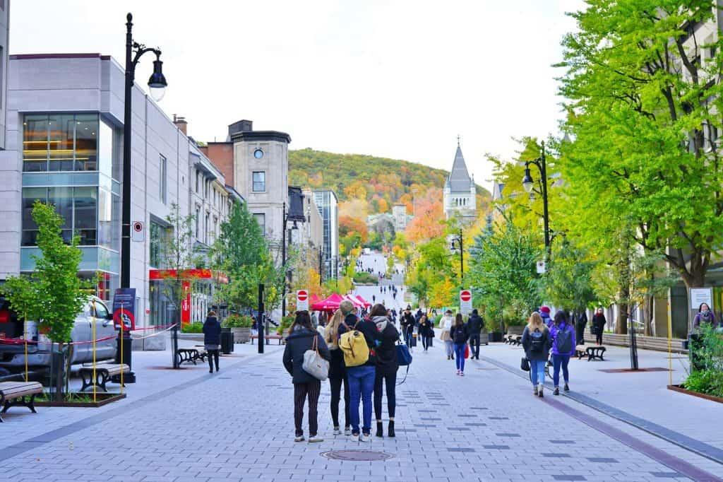 Montreal Canada Estudiantes