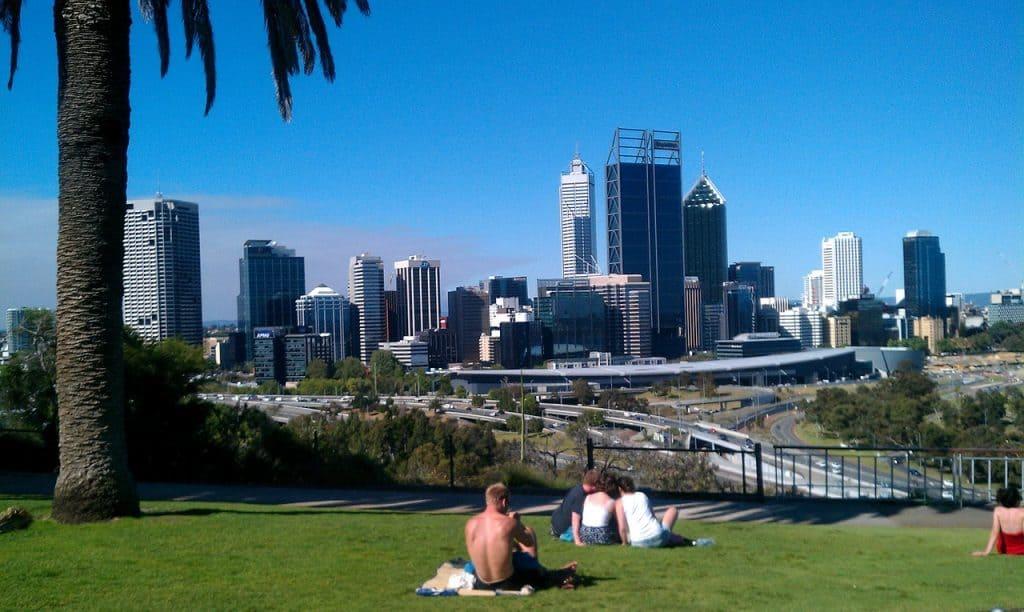 Parque en Perth, Australia