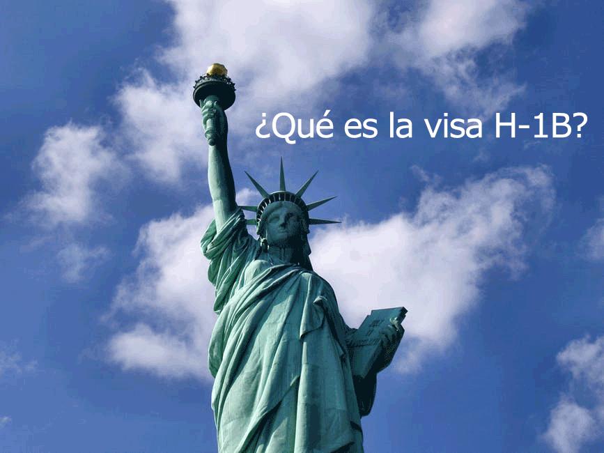 ¿Qué es la visa H-1B?