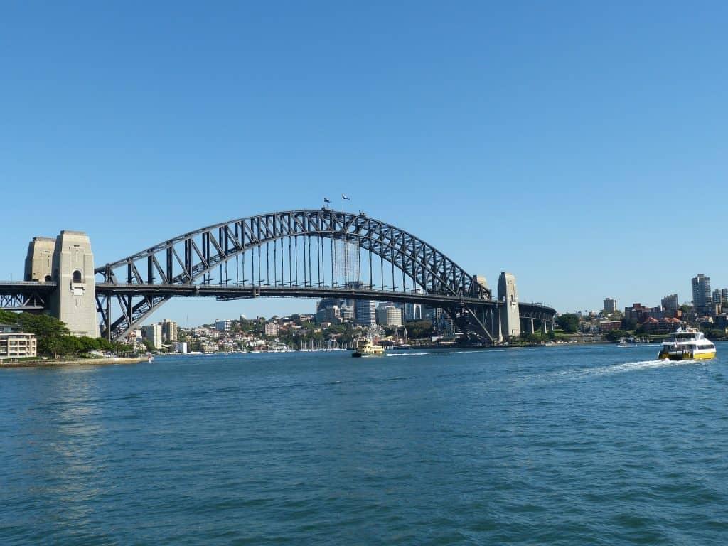 Subir al puente del puerto de Sídney