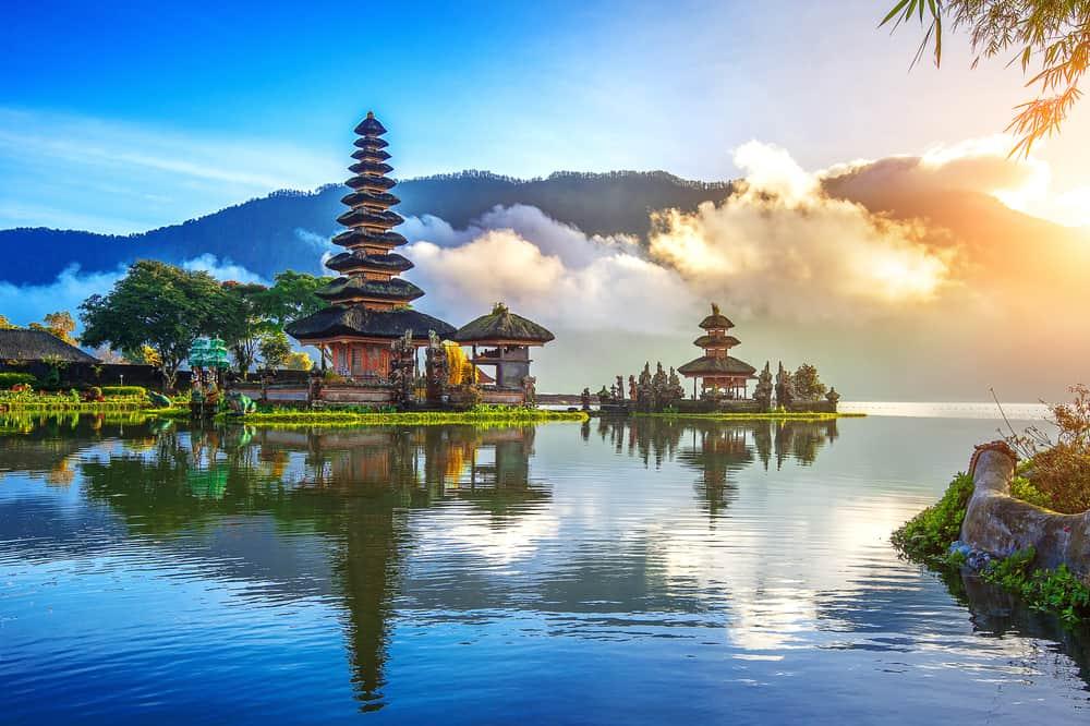 Templo Bratan en Bali
