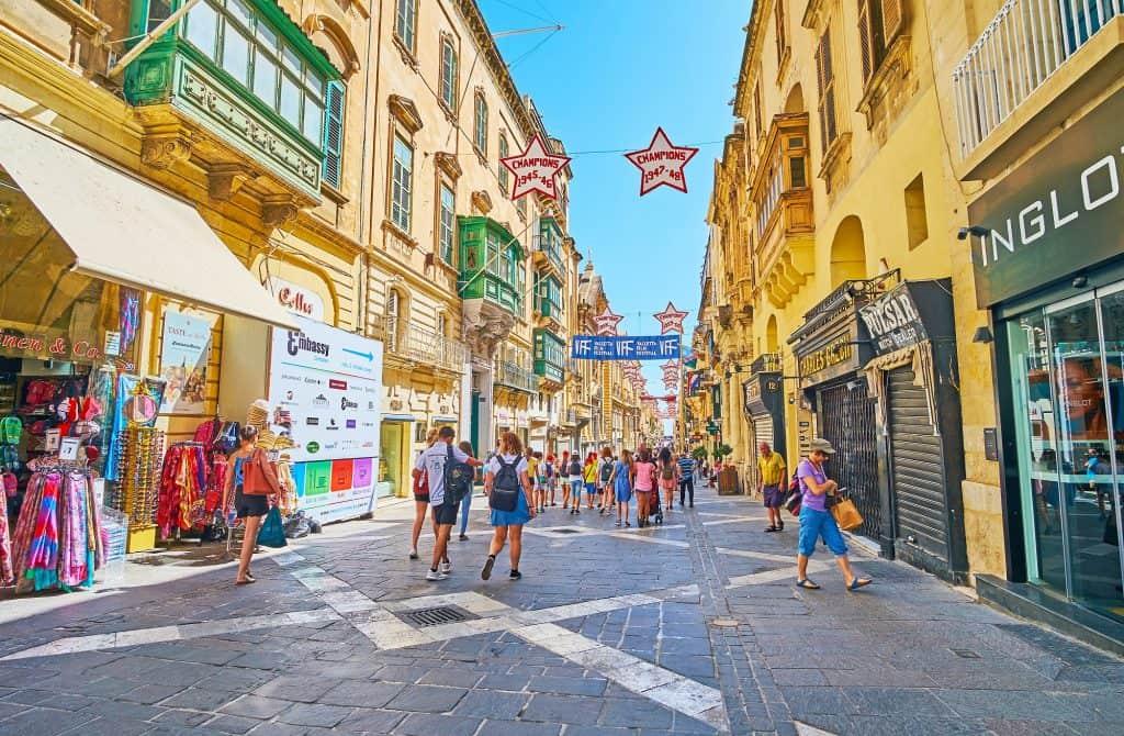 Valletta, calle de Triq Ir-Repubblika