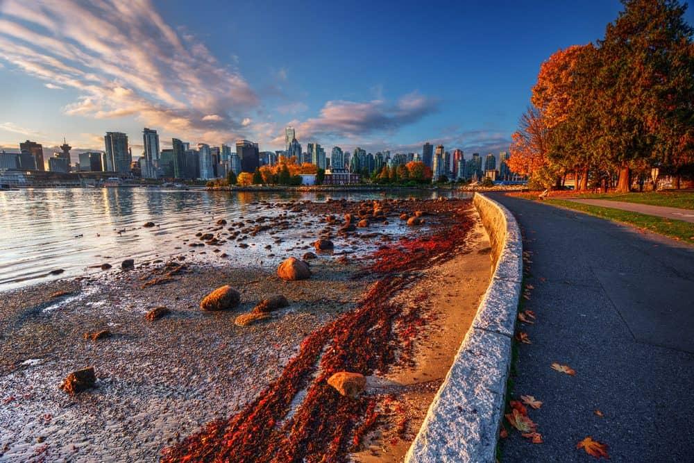Vancouver en el otoño