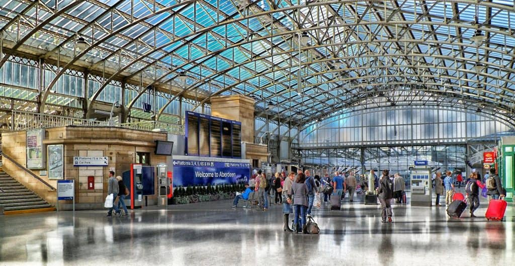 Estación de tren Aberdeen