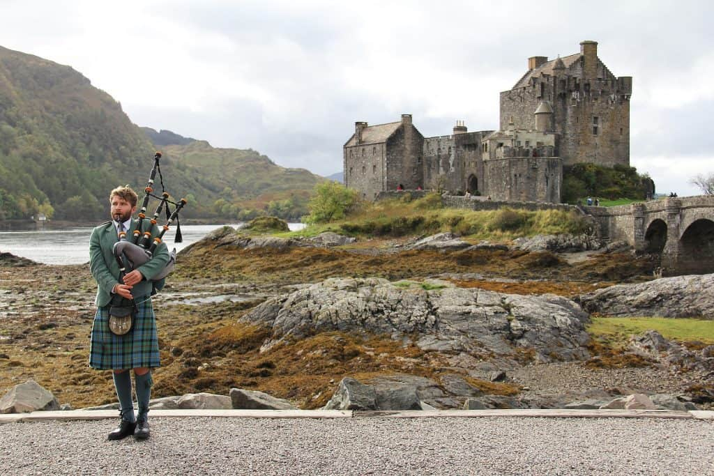 Gaita Escocia