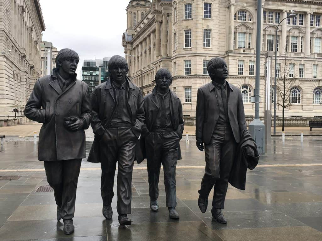 The Beatles en Liverpool