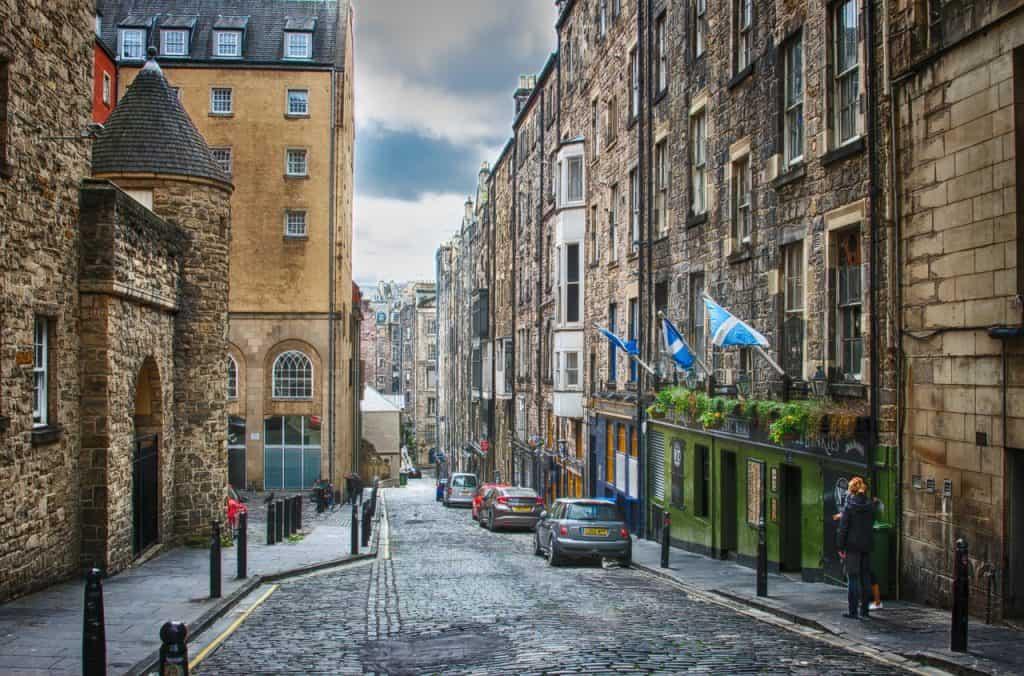 Calles Edimburgo