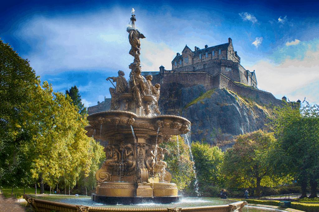 Edimburgo Castillo Escocia
