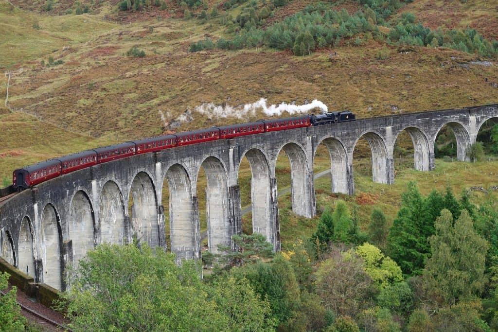 Glenfinnan Tren Escocia