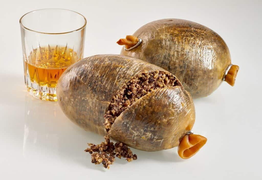 Haggis Comida Escocia