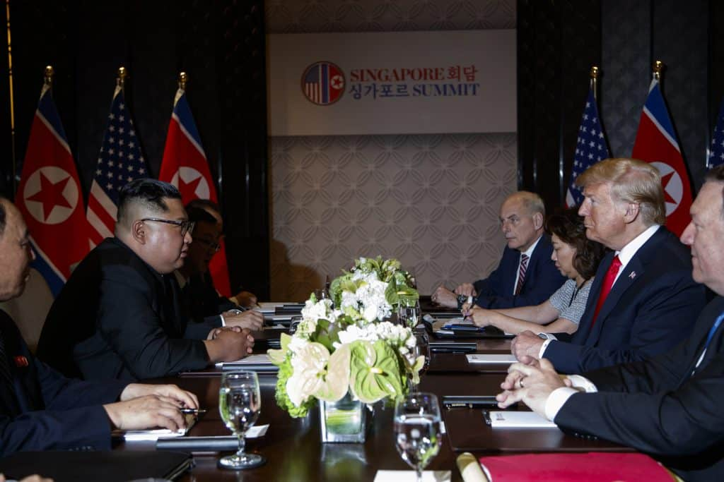 Donald Trump, Kim Jong Un, Interprete