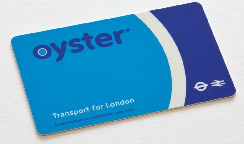 Tarjeta Oyster en Londres