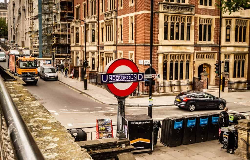 "El ""Tube"" de Londres"