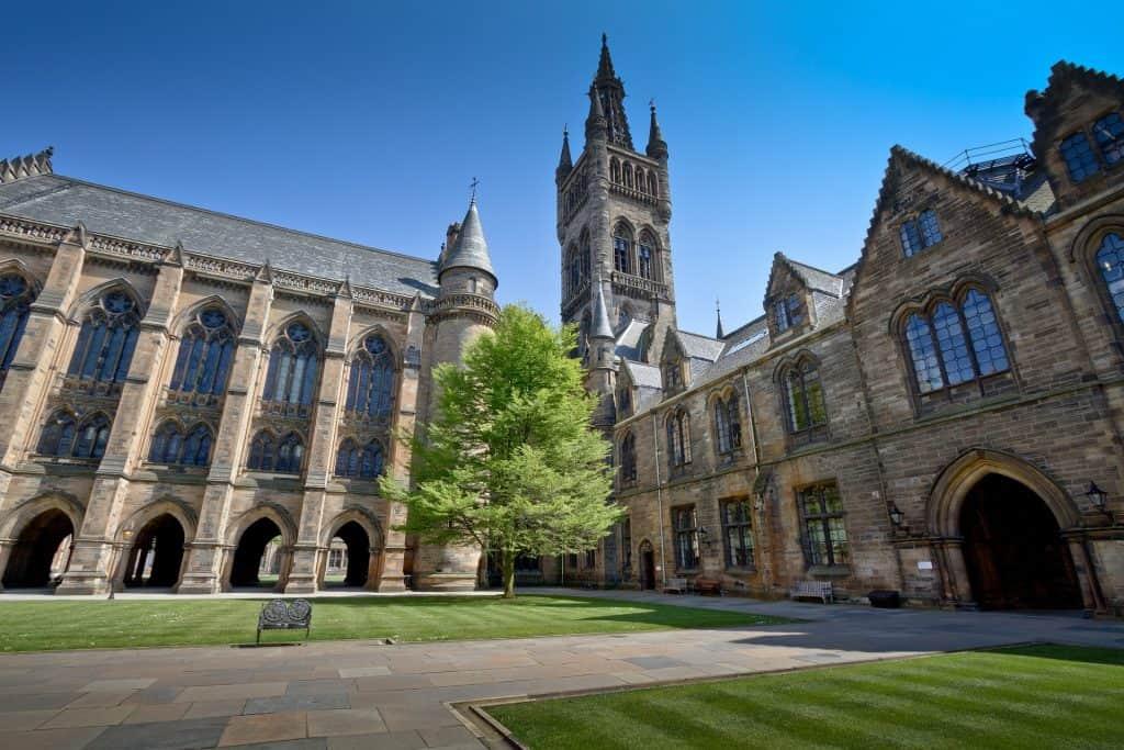 Universidad de Glasgow Escocia