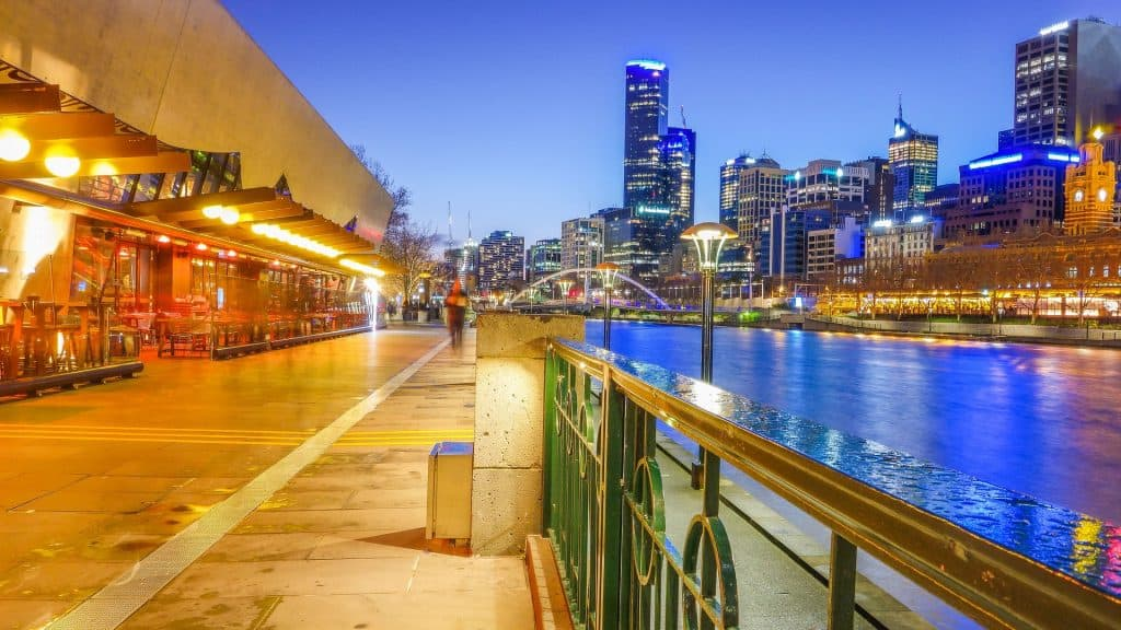 Southbank: Yarra River